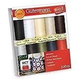 Gutermann Sew-All Classics Set 100% Polyester Thread Set 10 x 100m Reels