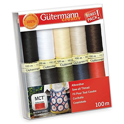 Gutermann Sew-All Classics Set 100% Polyester Thread Set 10 x 100m ()