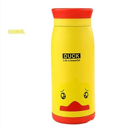 Amazon.com: UNIQUE-F - Botella de vacío de agua aislada de ...