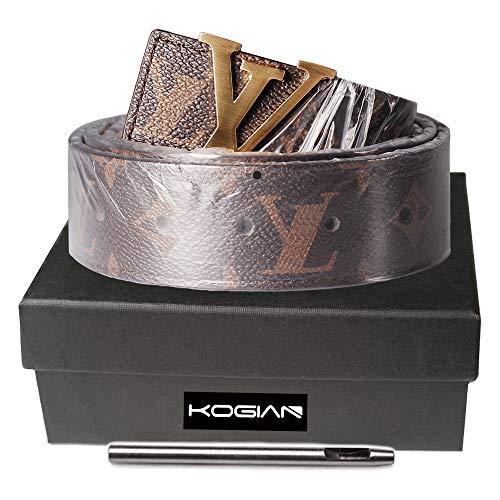 Designer Belts for Women Men Luxury Fashion belt for Jeans Pants Dresses ()