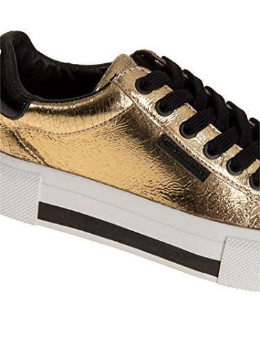 Kendall and Kylie Sneakers Donna TYLERGOLD Pelle Oro