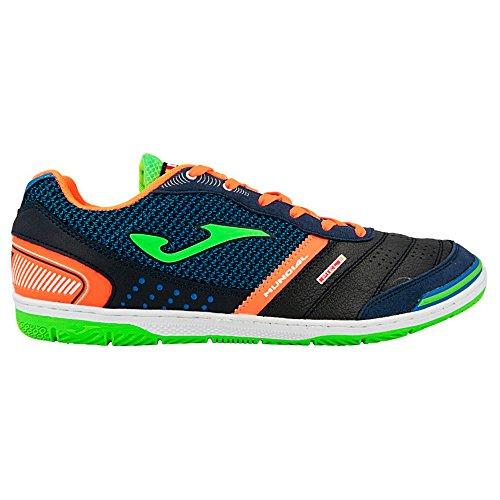 Joma Muns.703.In, Zapatillas de Fútbol Sala para Hombre Varios colores (Azul / Verde / Naranja)