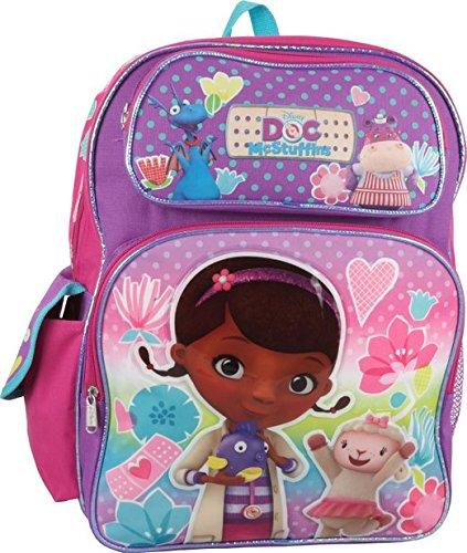 "Price comparison product image Disney Doc McStuffins 16"" Large Backpack"