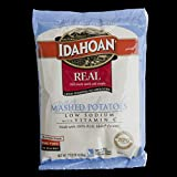 Idahoan Low Sodium with Vitamin C Real Mashed Potato, 25.2 Ounce - 12 per case.