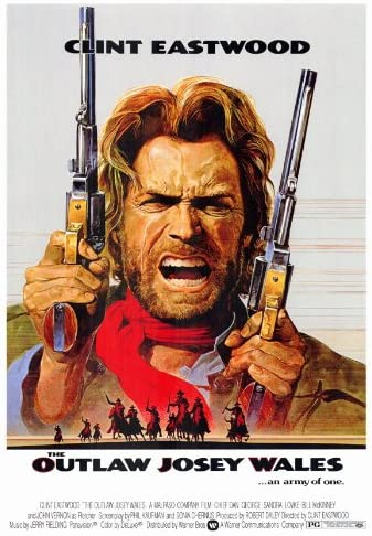 """24/""""x36/"""" Movie Poster - - Free S//H The Outlaw Josey Whales"""