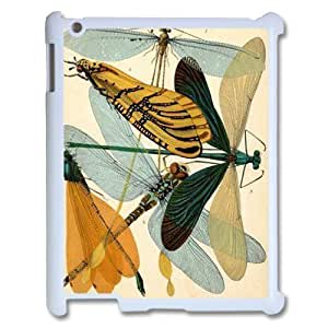 Beautiful Dragonfly DIY Cover Case for Ipad2,3,4,personalized phone case ygtg-310073
