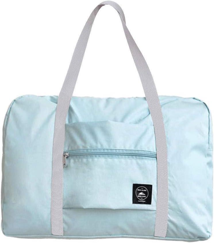 Grau FunYoung Superleichtes Tragbares Handgep/äck Faltbare Reisetasche aus Polyester Farbwahl