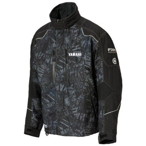 Yamaha SMB-13JRN-GY-LG Jacket, Fxr Mtn, Gray Pr, Lg; SMB13JRNGYLG Made by Yamaha
