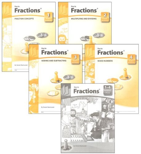 - Key to Fractions, Books 1-4 Set
