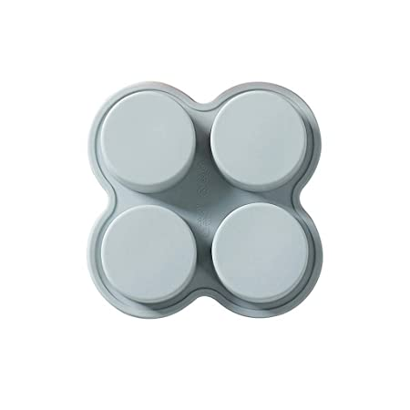 DFVVR DIY 4 Rejillas de Silicona para jabón, Molde Cuadrado para ...