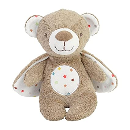Happy Horse - Peluches et Doudous - Peluche Ours Ourson Bondy - Coloris : Marron blanc