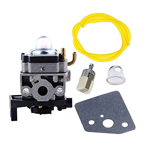 HIPA Carburetor with Gasket Fuel Line Filter Primer Bulb for HONDA Engine GX35 GX35NT HHT35S Trimmer / Brush Cutter # 16100-Z0Z-034 WYB 16C