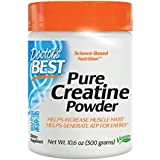 Doctor's Best Pure Creatine Powder, Non-GMO, Vegan, Gluten Free, 300 Grams