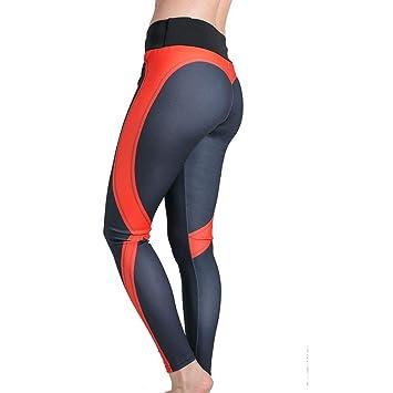 Pantalones Deportivos Yoga, Remiendo en forma de corazón a ...