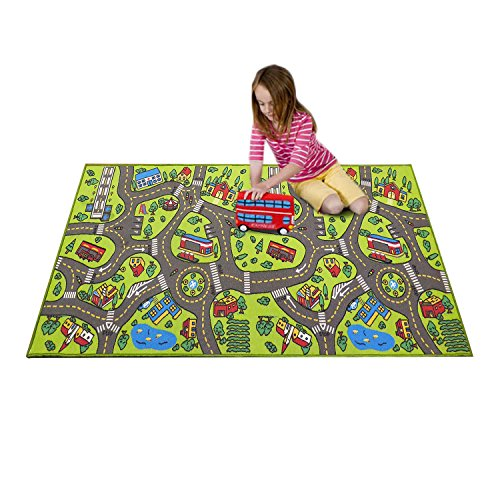 Extra-Large-79-x-40-Kids-Carpet-Playmat-Rug-City-Life-Great-For-Playing-With-Cars-And-Toys-Play-Learn-And-Have-Fun-Safely-Children-Baby-Play-Mat-For-Bedroom-PlayRoom-Game-Safe-Area