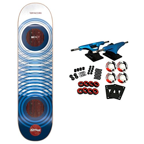 - Almost Skateboard Complete Clean Rings Impact Faccini 8.0
