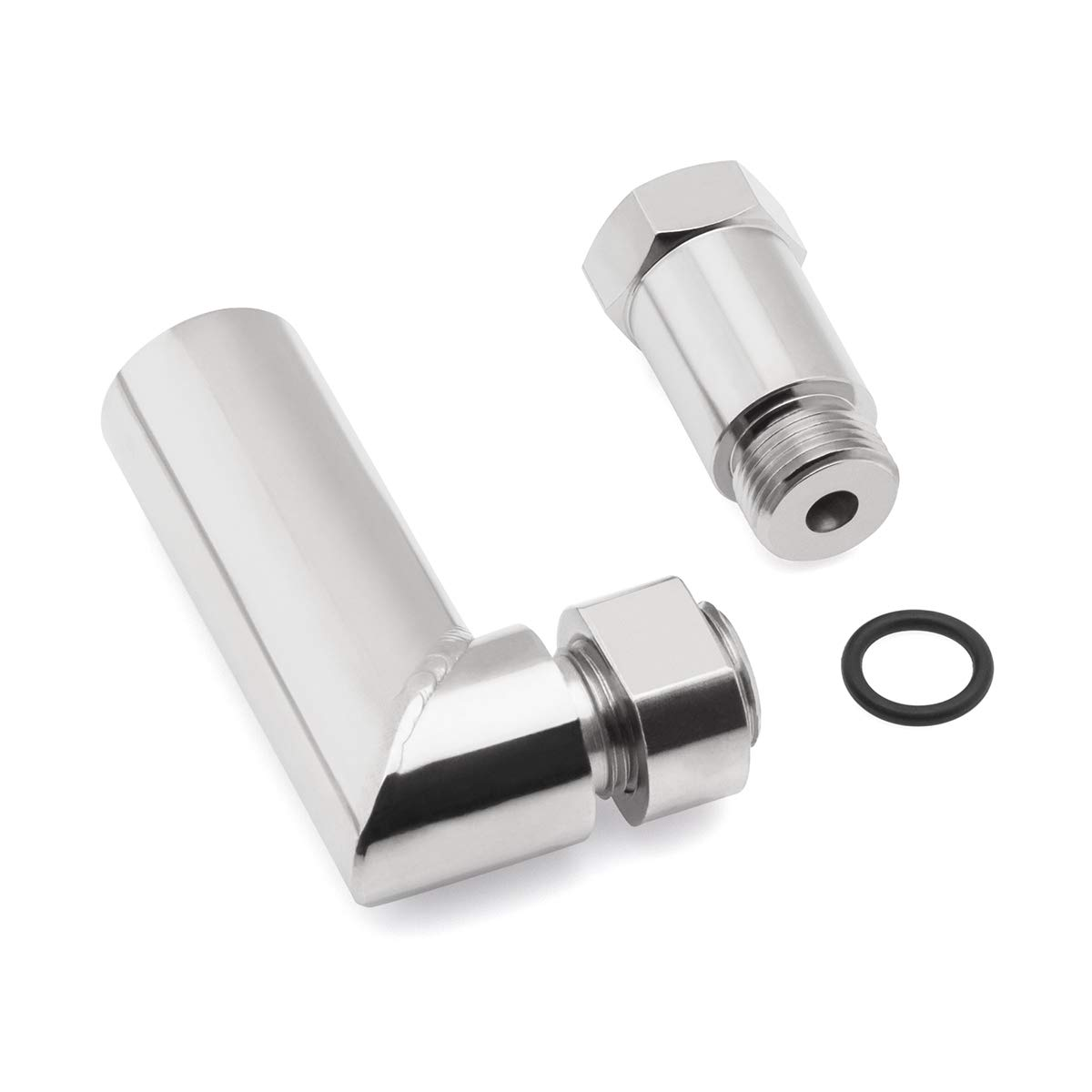 O2 02 Defouler Straight CEL Fix Oxygen Spacer Exhaust Extension Car Engine