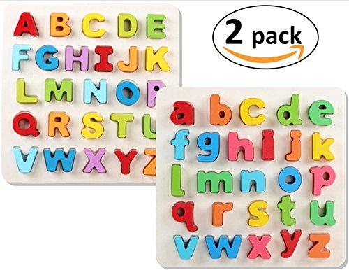 Wooden Alphabet Puzzle (Uppercase) - 2