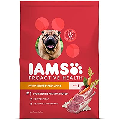 IAMS Proactive Health Dry Dog Food, Lamb & Rice, 12.5 lbs. (Standard Packaging)