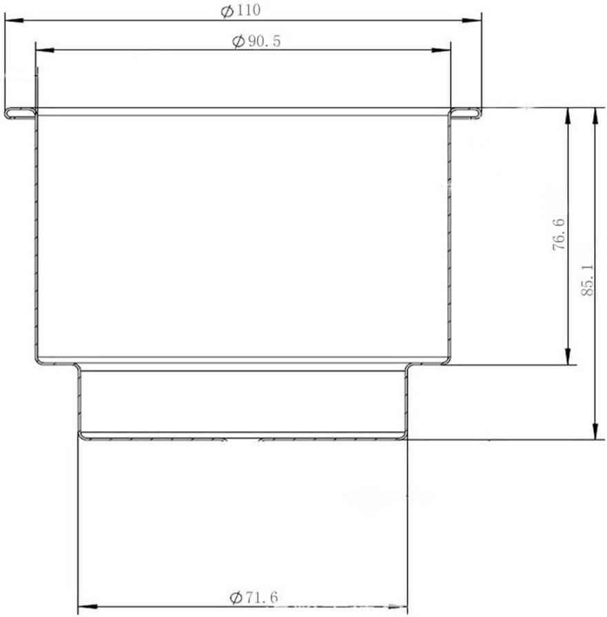 ZONCENG1 1 par de Soportes de pl/ástico empotrables para Vasos de Barco Marino y yate