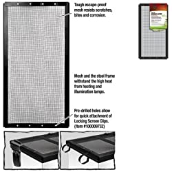 ENERGY SAVERS UNLIMITED,INC. - SCREEN COVER METAL BLK 16X8