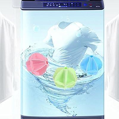 Dingji Clean Laundry Ball Washing Helper Softener Cloth Cleaning Ball Washer Laundry Dryer Ball Fabric (Random)