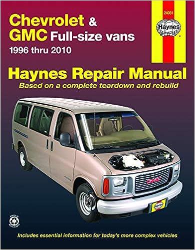 1997 GMC Savana 1500 Haynes Online Repair Manual-Select Access