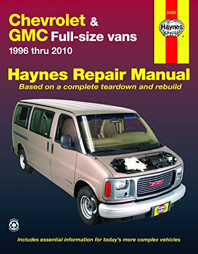 (Chevrolet & GMC Full-Size Vans, 1996-2010 (Haynes Repair)