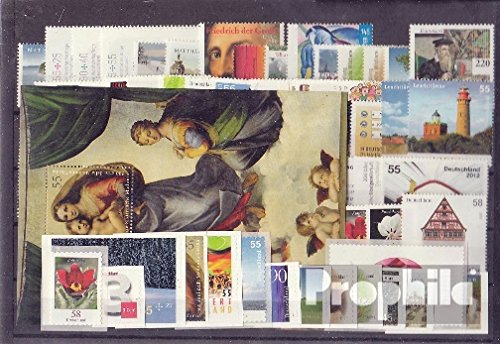 FRD (FR.Germany) 2012 unmounted mint / never hinged Complete Volume in clean Conservation (Stamps for collectors)