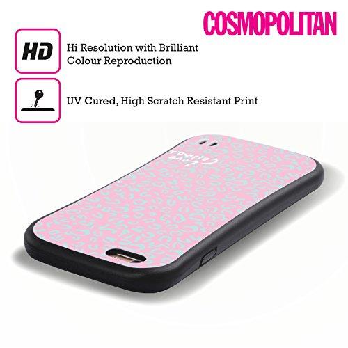 Official Cosmopolitan Pink Leopard Pastels Hybrid Case for Apple iPhone 6 / 6s