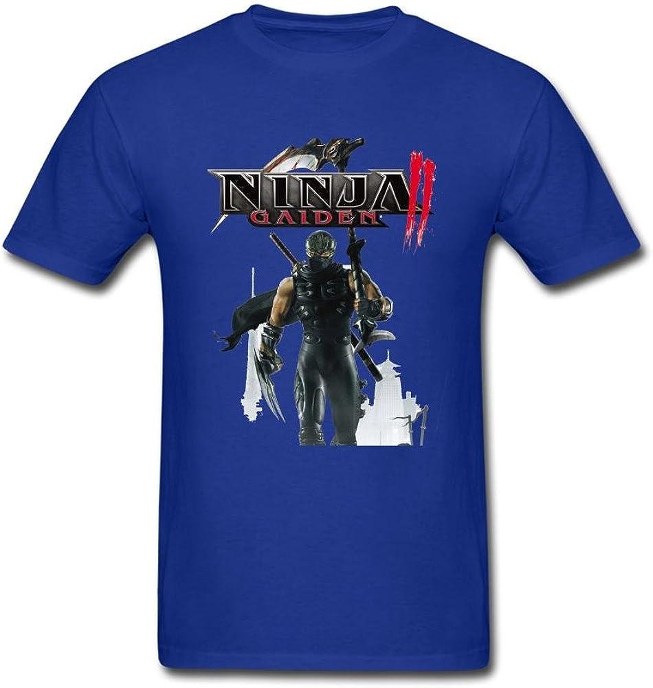 YHShirt Men's Ninja Gaiden II 2 Video Game Short Sleeve T-Shirt