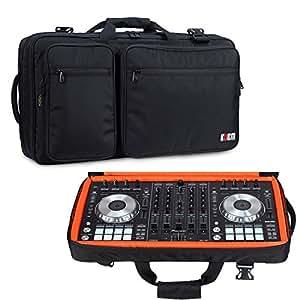 bubm professional dj backpack travel gear carry bag compatible with pioneer ddj sx. Black Bedroom Furniture Sets. Home Design Ideas