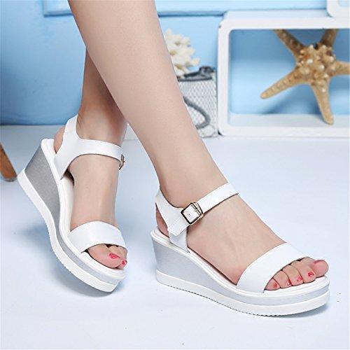 Verano Zapatos de Tal de Estudiante Sandalias EwHA5qW
