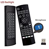 Cheap Backlit Air Keyboard Mouse Remote MX3 Pro, 2.4Ghz Mini Wireless Android TV Control & Infrared Learning Microphone for Computer PC Android TV Box By Dupad Story