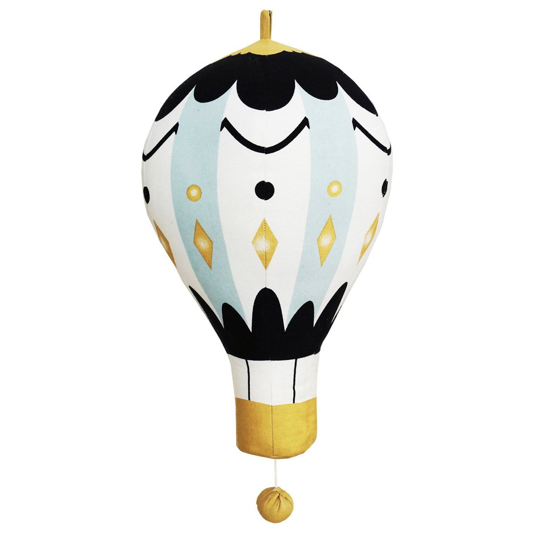 Elodie Details Moon Balloon Musical Toy (Large) ELODIETOYMUSMOONLRG