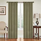 Eclipse Kendall Blackout Thermal Curtain Panel,Artichoke,84-Inch