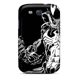 Scratch Protection Hard Cell-phone Case For Samsung Galaxy S3 With Allow Personal Design Trendy Venom Image LavernaCooney
