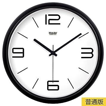 Amazon.com: FortuneVin Reloj de pared de movimiento ...