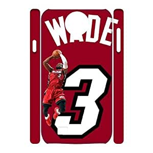 C-EUR Cell phone case Dwyane Wade Hard 3D Case For Samsung Galaxy S4 i9500
