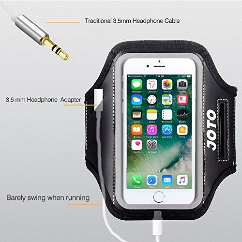 iPhone 8 Plus / iPhone 7 Plus Armband Case, JOTO Sport Exercise Belt Armband for Apple iPhone 8