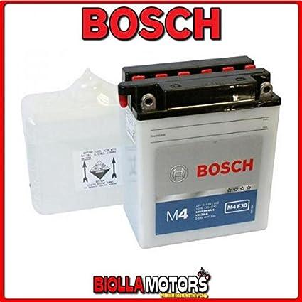 Batería Bosch 0092M4F300 YB12A-A con ácido. Para moto ...