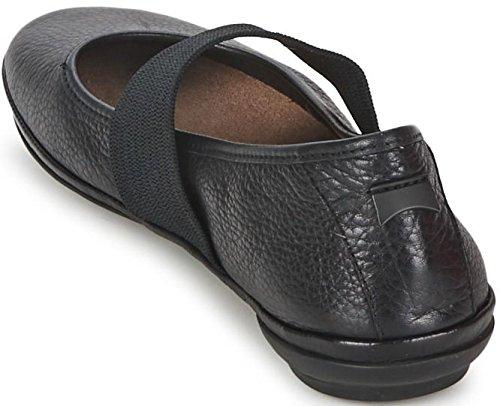 Camper Right Nina 21595 Noir Femmes Cuir Chaussures hwgBNrDO