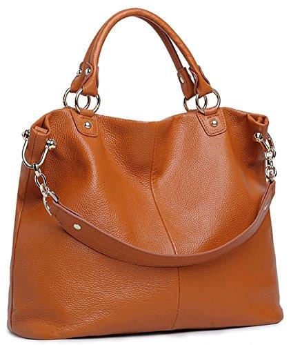 Keshi Leder Cool Damen Handtaschen, Hobo-Bags, Schultertaschen, Beutel, Beuteltaschen, Trend-Bags, Velours, Veloursleder, Wildleder, Tasche Gris Claro