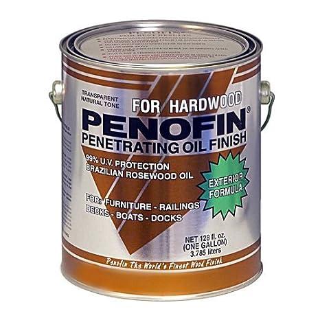 Penofin F5xhwga Exotic Hardwood Exterior Finish Natural 1 Gallon