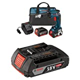 Bosch SGH182-01 18V Brushless Drywall Screwdriver with Battery, Charger and Contractor Bag with 2.0 AH battery