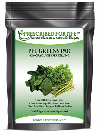 Greens Pak - Super Food & Vegetable Blend with Antioxidants & Phytonutrients ING: Organic Powder, 55 lb by Prescribed For Life