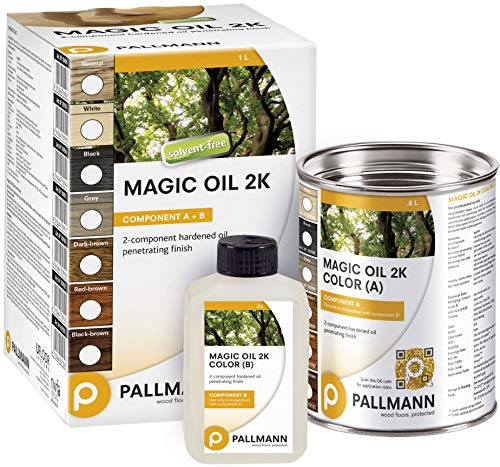 Matte Cork Flooring - Pallmann Magic Oil 2K-Neutral