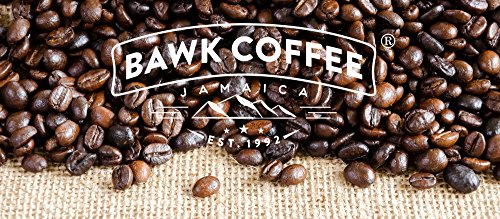 """Jamaica Blue Mountain Coffee Blend – """"Medium"""" Roasted Beans (16oz.) (Pack of 6) by BAWK Coffee (Image #6)"""