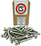 Stainless 1/4-20 x 1-3/4'' (1/2'' to 3'' Available) Socket Flat Head Screws, Full Thread, Hex Drive, Stainless Steel 18-8, Coarse Thread (1/4-20 x 1-3/4'')