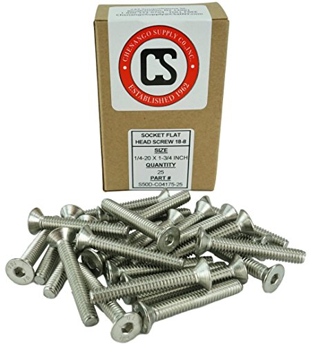 Stainless 1/4-20 x 1-3/4